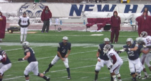 Despite the return QB Sean Goldrich at UNH, the Wildcats have struggled early this season.