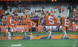 The Orange will be seen at possibly three different venues by Collegefootballfan.com this year including the Carrier Dome.