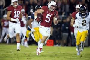 RB Christian McCaffery is one of the reasons we expect to see Stanford challenge for the College Football Playoff this year. We will see the Cardinal play at Notre Dame and at Cal in 2016.