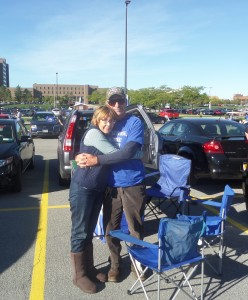Liz and Bill were happy to see thier Buffalo Bulls and Bills win over this weekend!