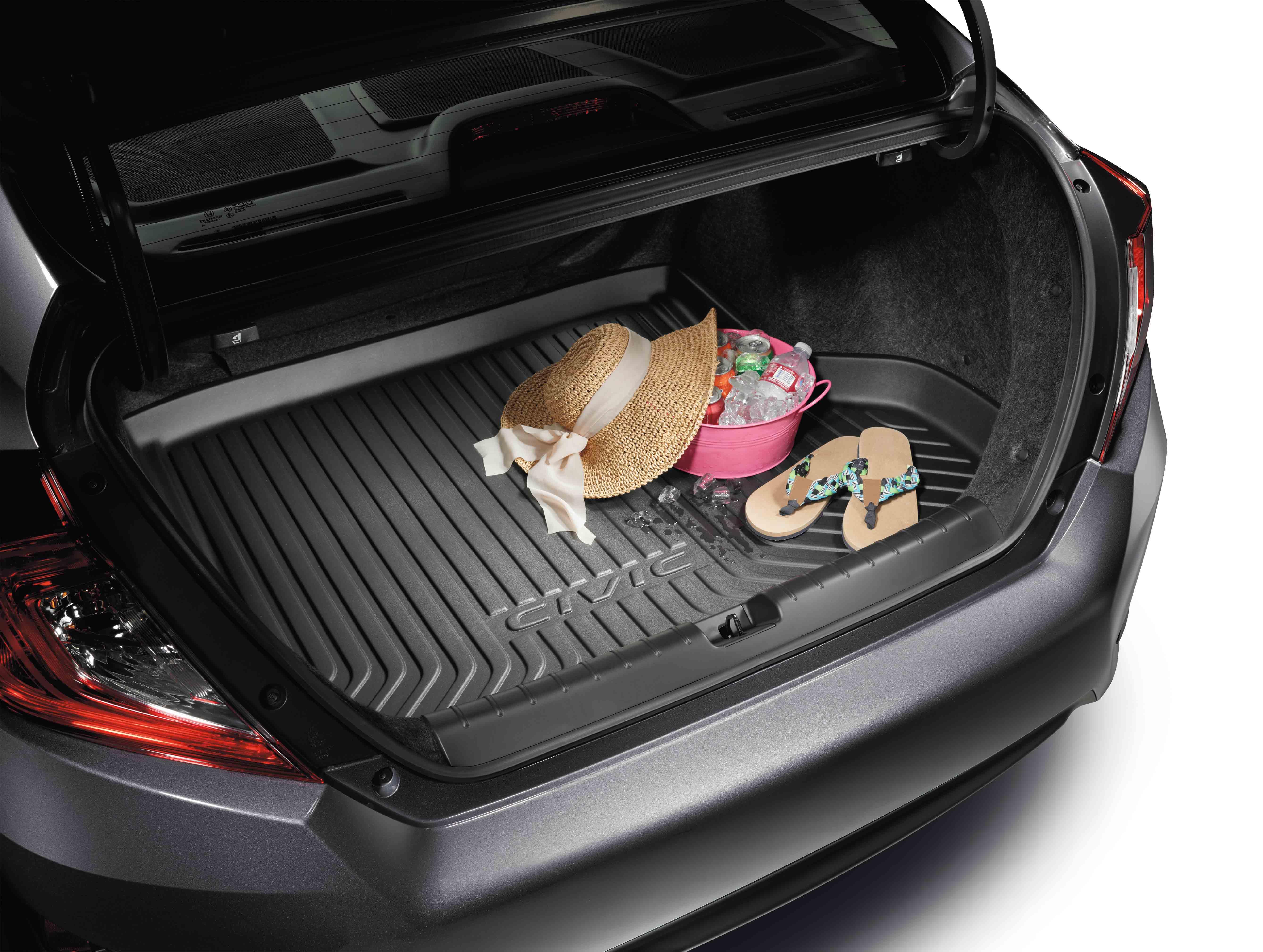 2016 2018 Honda Civic 4dr Trunk Tray 08U45 TBA 100