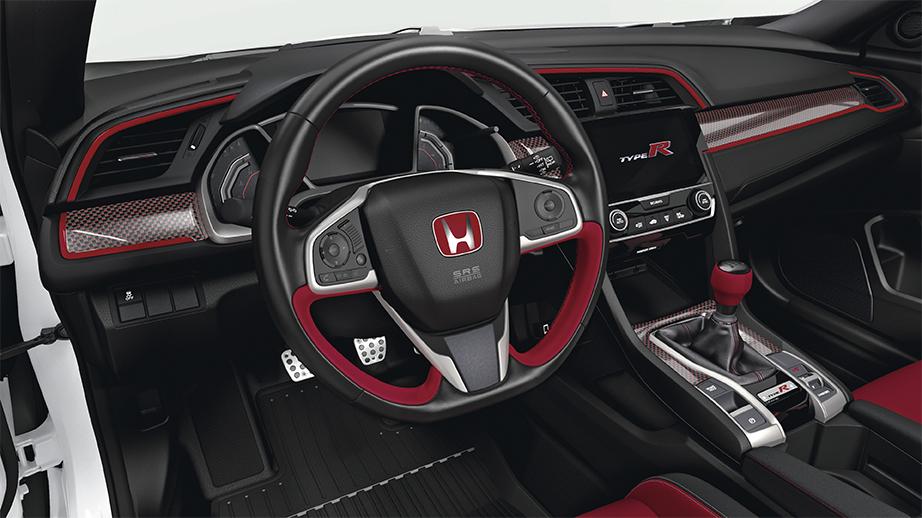 2017 2018 Civic Type R Carbon Fiber Interior Panel Cover