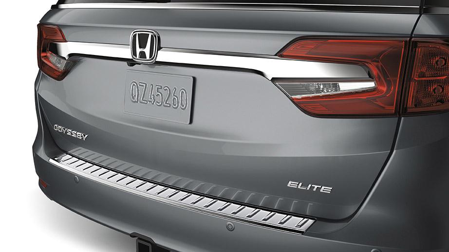 2018 2019 Honda Odyssey Rear Chrome Bumper Protector