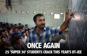 Super 30 students crack IIT JEE