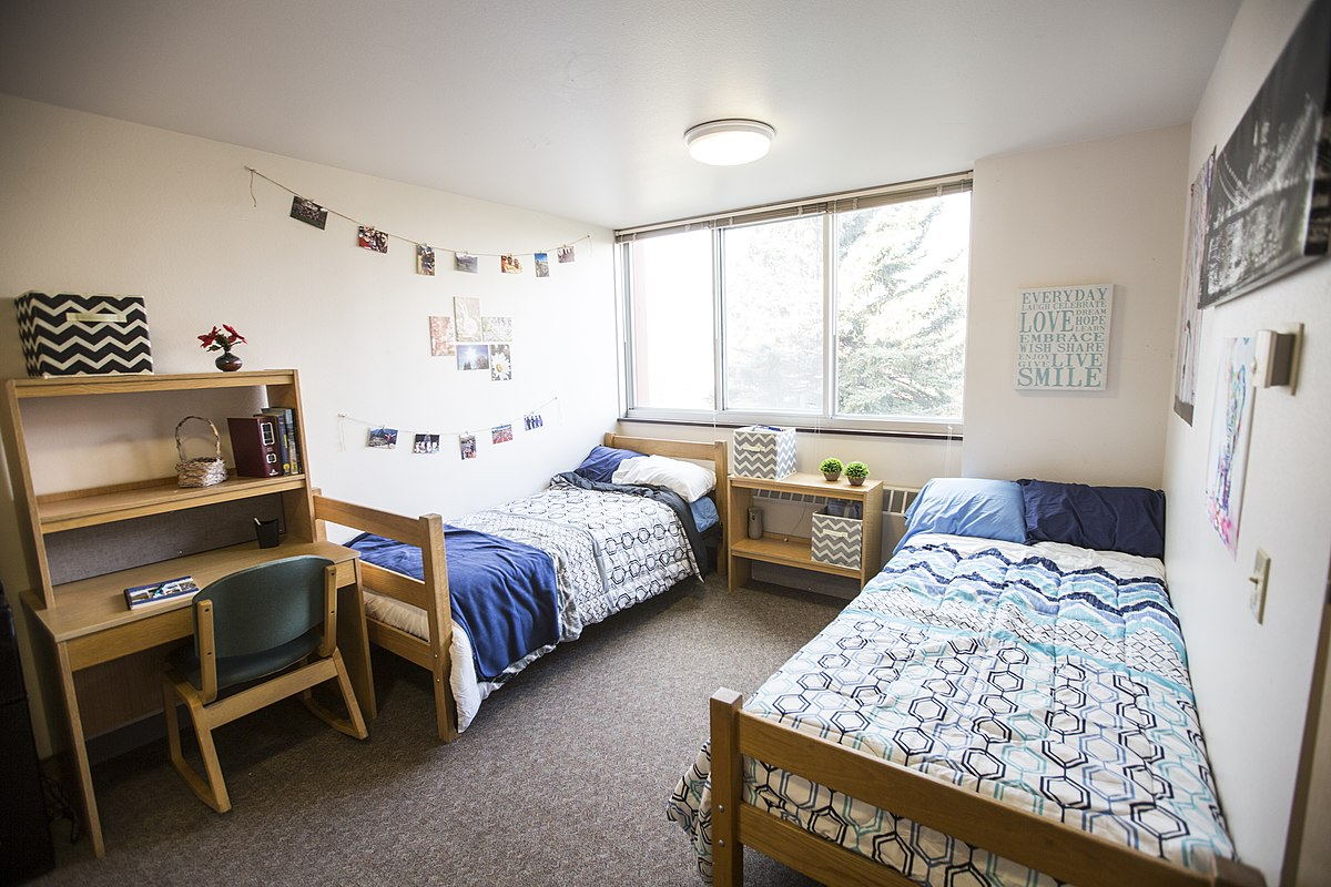 the college dorm list by actual college