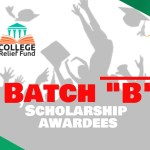 CRF Batch B Scholarship Awardees (2021-2)