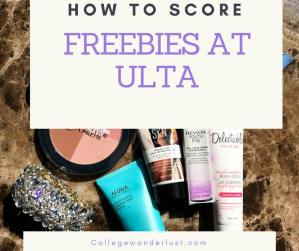 How to Score Freebies at Ulta