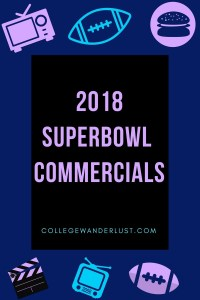2018 Superbowl commercials