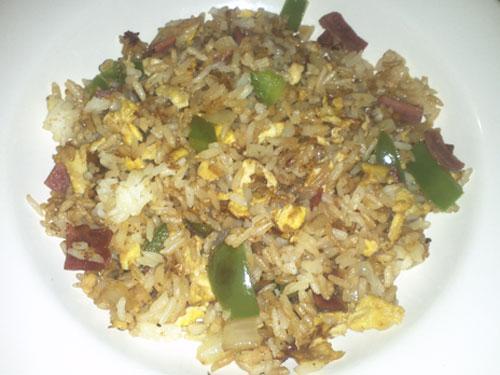 Easy Fried Rice Recipe by Collegiatecook.com