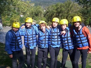 rafting sejour scolaire