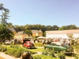 Schloß Dyck Classic Days 2018, Parkanlage