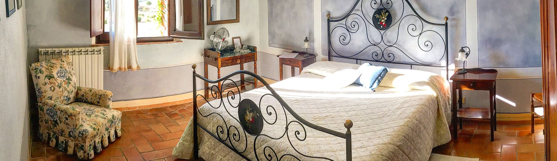 Walking Holiday Accommodation in Tuscany with Collett's - Il Rigo Agriturismo