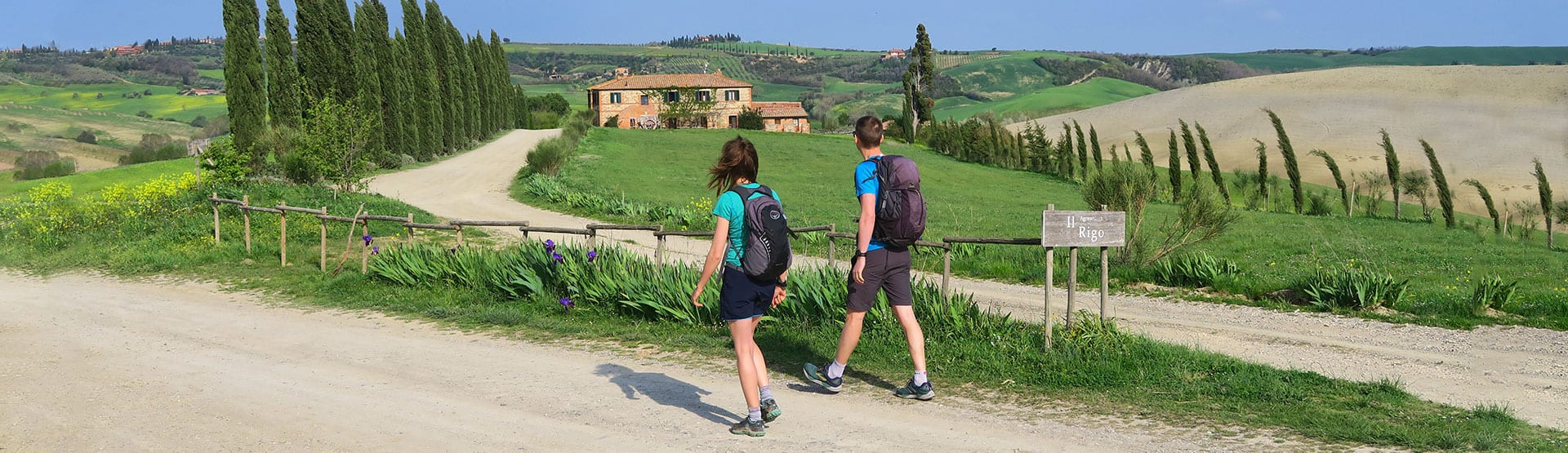 Walking Holidays in Tuscany with Collett's