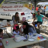 Colleyville LEOs Support the Heritage Lions Club Easter Egg Hunt