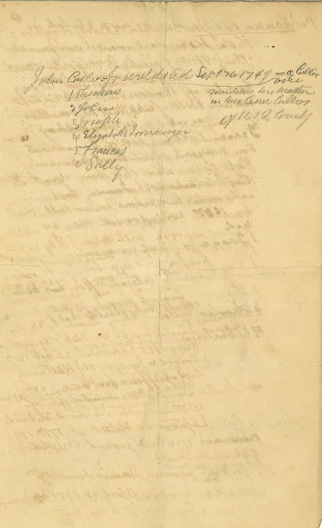 Collyer now Collier Genealogist Notes_Page_4
