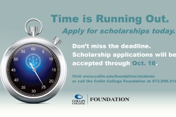 Time is running out to apply for scholarships