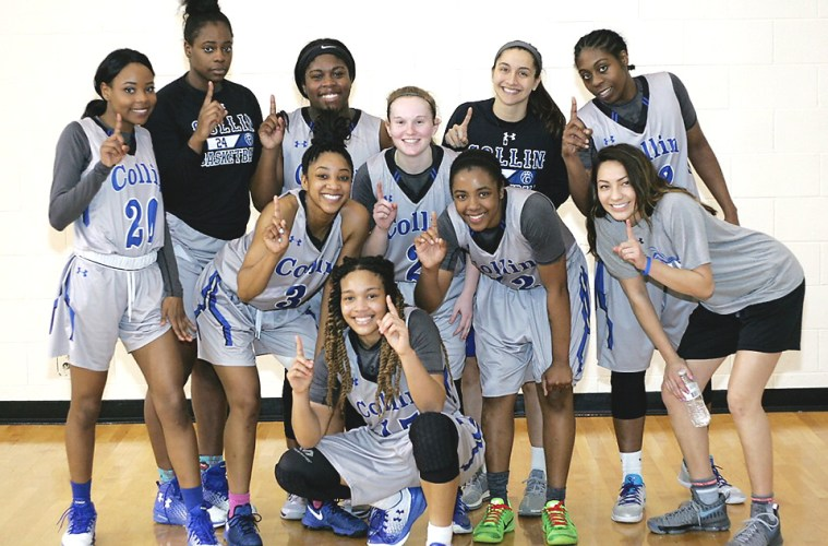 The Collin College Lady Cougars won their third conference championship in a row on March 1.