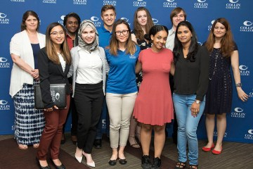 Collin College Student Employee of the Year nominees