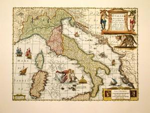 Cartina del 1600