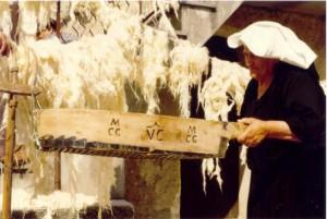 Lavorazione della lana