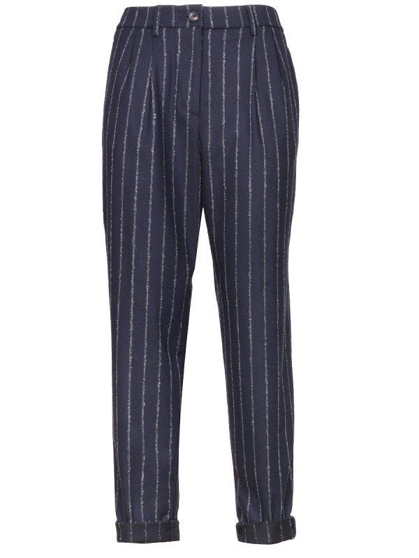 come ottenere buona consistenza moda Pantalone donna Cappellini