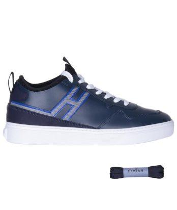 Hogan-lacci-fondo-cassetta-blu-1