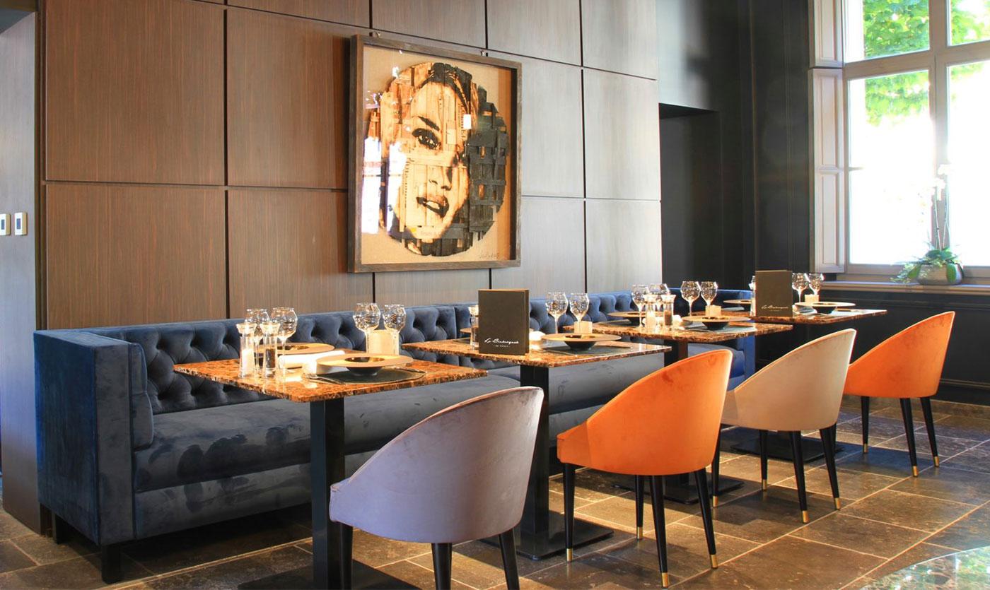 Restaurant Furniture For Le Bistroquet Collinet