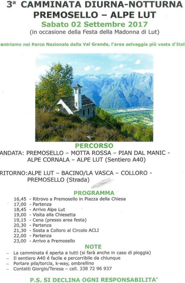 Alpe Lut 2017