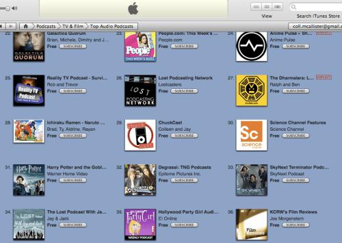 29 in iTunes