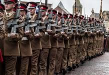 Duke of Lancaster's Regiment Colne