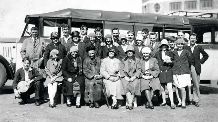 Providence Christian Endevour outing 1930