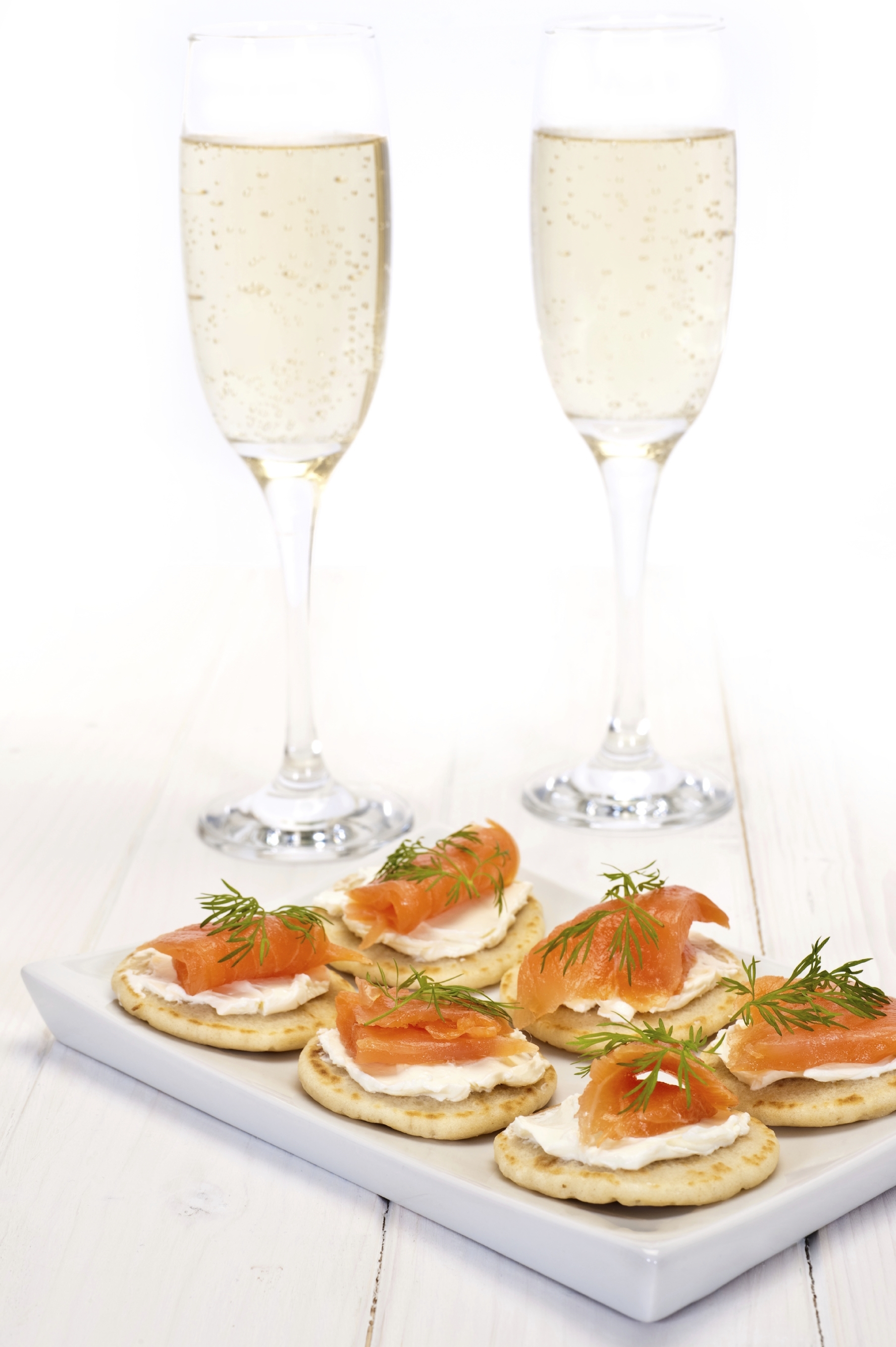 Image result for smoked salmon and champagne