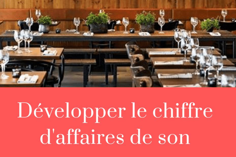 développer son restaurant