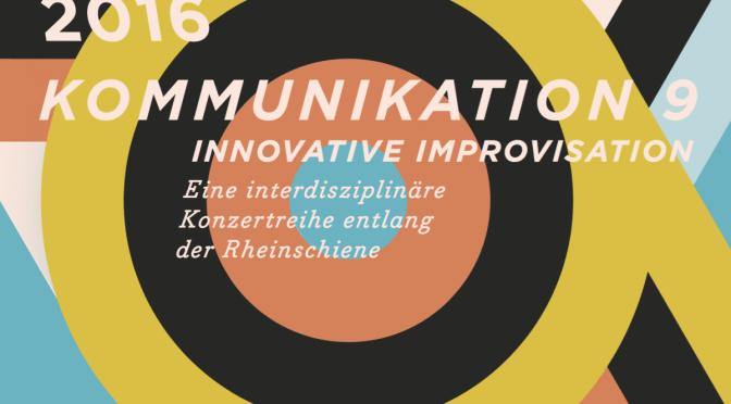 Kommunikation 9 – Termine in 2016