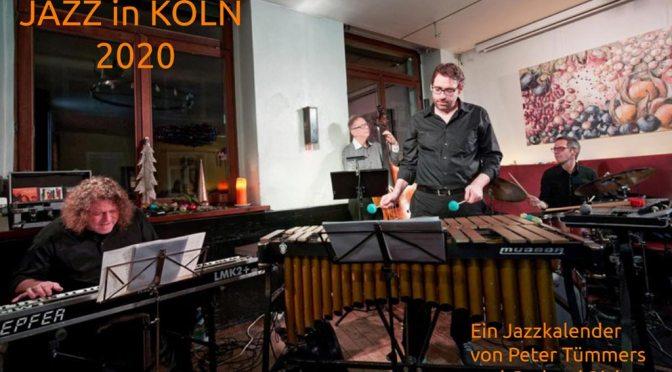 Kölner Jazz Kalender 2020 ist da