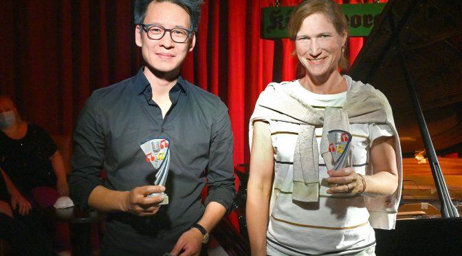 Kompositionswettbewerb 2020:  1. und 2. Sieger –  Jerry LU  und Kristina  Brodersen
