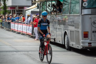 LONGERICH, GERMANY - JUNE 09: Denise Schindler of Germany (homeclub BPRSV Cottbus, classification C3, UCI 1008438172) after passing the finish line at the Race Track - Longericher Hauptstrasse during the Cologne Classic 2019 - Single Time Trial - Einzelzeitfahren on June 09, 2019 in Longerich, Germany (Photo © 2019 Oliver Kremer   https://sports.pixolli.com)