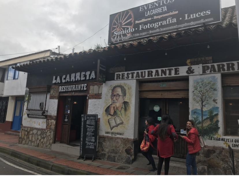 Restaurante La Carreta en Zipaquirá