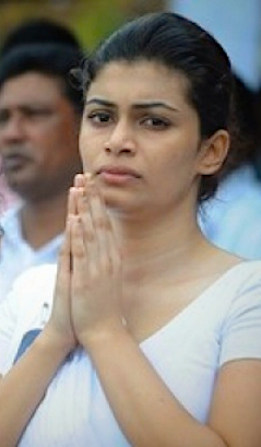 Hirunika - Now the politics is equal to underworld and money and politicians are like jokers.""