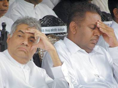 Ranil and Mangala