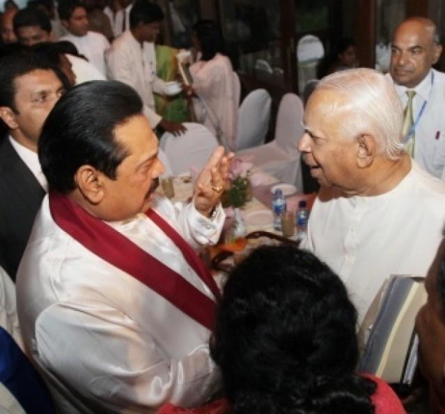 Sampanthan - Mahinda - Colombo Telegraph