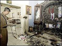 Mattegoda Church attack / File photo