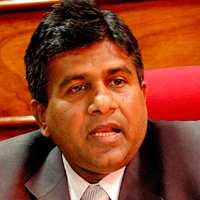 Wijeyadasa Rajapakshe - Minster of Justice