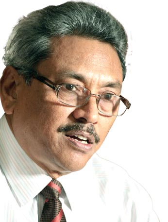Gotabaya - Secretary to the Ministry of Defence and Urban Development