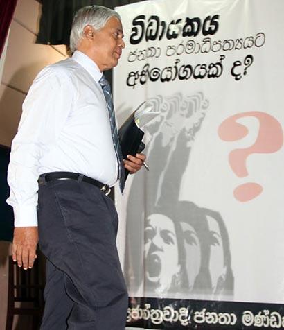 Ex-Chief Justice, Sarath Silva
