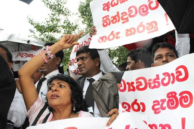 CJ protest