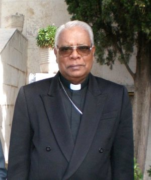 Rt. Rev. Dr. Rayappu Joseph, Catholic Bishop of Mannar