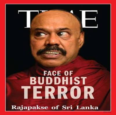"737571ff18a The Rajapaksas have followed suit; probably because the 'Time' article  makes a passing reference to our own Wirathus and their political masters:  ""In Sri ..."