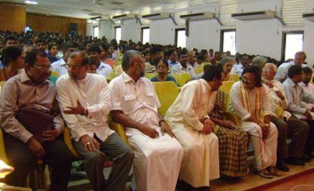Devananda: Lording it at University of Jaffna | File photo