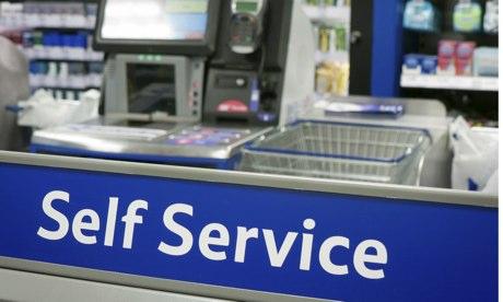 Self service checkout